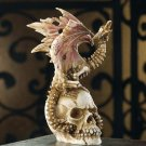 Skeletal Dragon Figurine