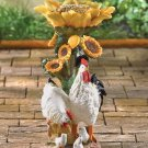 Country Chicken Birdfeeder