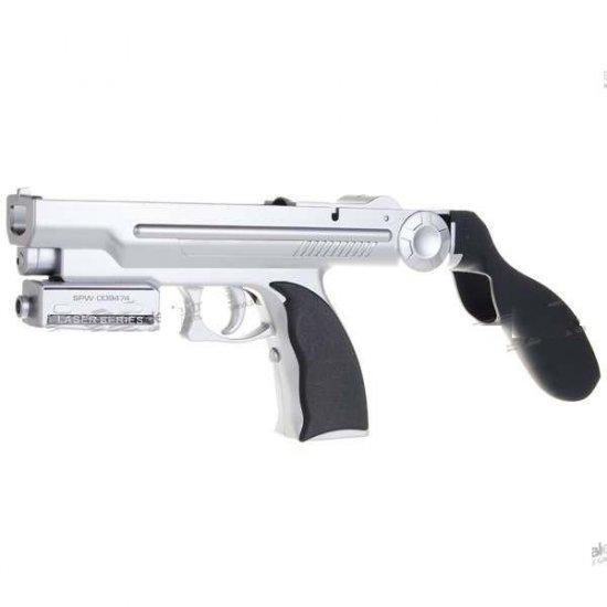 5-in-1 Laser Light Gun for Wii Remote