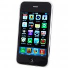 "iFhone 3GS 3.5"" Touch Screen Quadband GSM Cell Phone w/WiFi + JAVA (White + Black)"