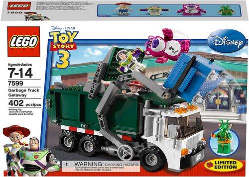 LEGO Toy Story 3 Garbage Truck Getaway (7599)
