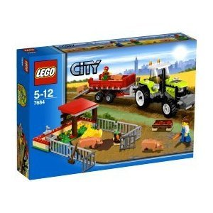 LEGO City Pig Farm & Tractor (7684)