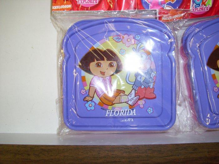 Dora The Explorer Sandwich Container
