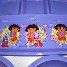 Dora The Explorer 4 section divided plate