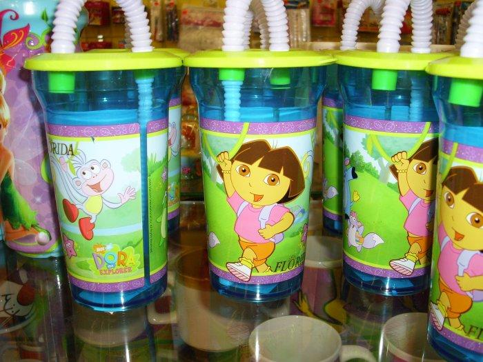 Dora The Explorer Fun Tumbler with Straw