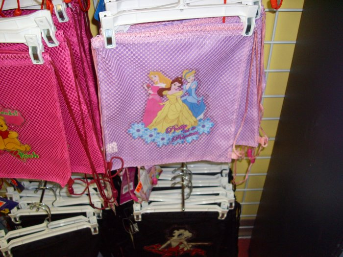 Cinderella and Friends Sling Back Pack/Tote