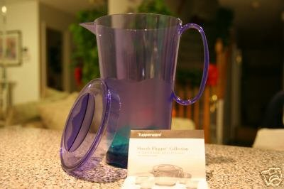New Tupperware Sheerly Elegant Pitcher NEW COLORS