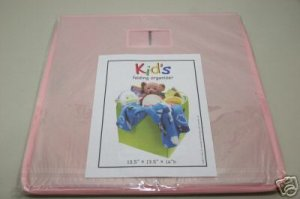 Kid's Sealed Collapsible Fabric Toy Storage Box Cube