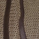 Lingerie Bra Strap Elastic -  brown - 3/8 in  x 4 yds