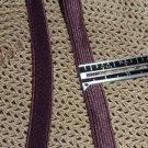 Lingerie Bra Strap Elastic -  plum - 3/8 in  x 4 yds