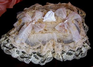 Vintage Victorian Lace Tissue Box Cover ATC 74