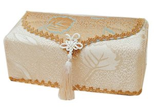 Vintage Victorian Lace Tissue Box Cover ATC 69