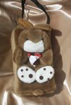 Children Tissue Box Cover Large-Bunny  with a Strap CTC60