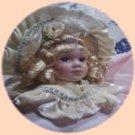 "Victorian Christmas Tree Ornament Vintage Doll ""Antoinette"""
