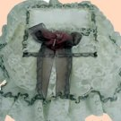 Vintage Victorian Lace Tissue Box Cover ATC 77- Small