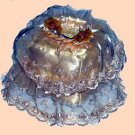 Vintage Victorian Lace Tissue Box Cover ATC 70- Small