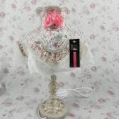 Vintage victorian style shabby chic antique lamp VL35