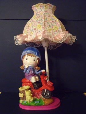 Kids boy girl nursery décor resin table accent lamp night light NEW  SF-23