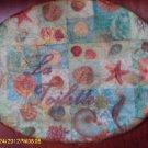 Marine Life vintage shabby chic bath wall plaque VS39