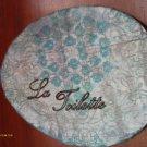 Vintage shabby chic bath wall plaque VS30