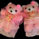 Children Curtain Tie Backs - Ballerina Bear  CT 35  Pink