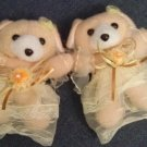 Children Curtain Tie Backs - Ballerina Bear  CT 35 Tan