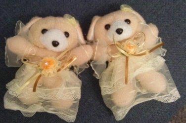 Children Curtain Tie Backs - Ballerina Bear  CT 35 Tan