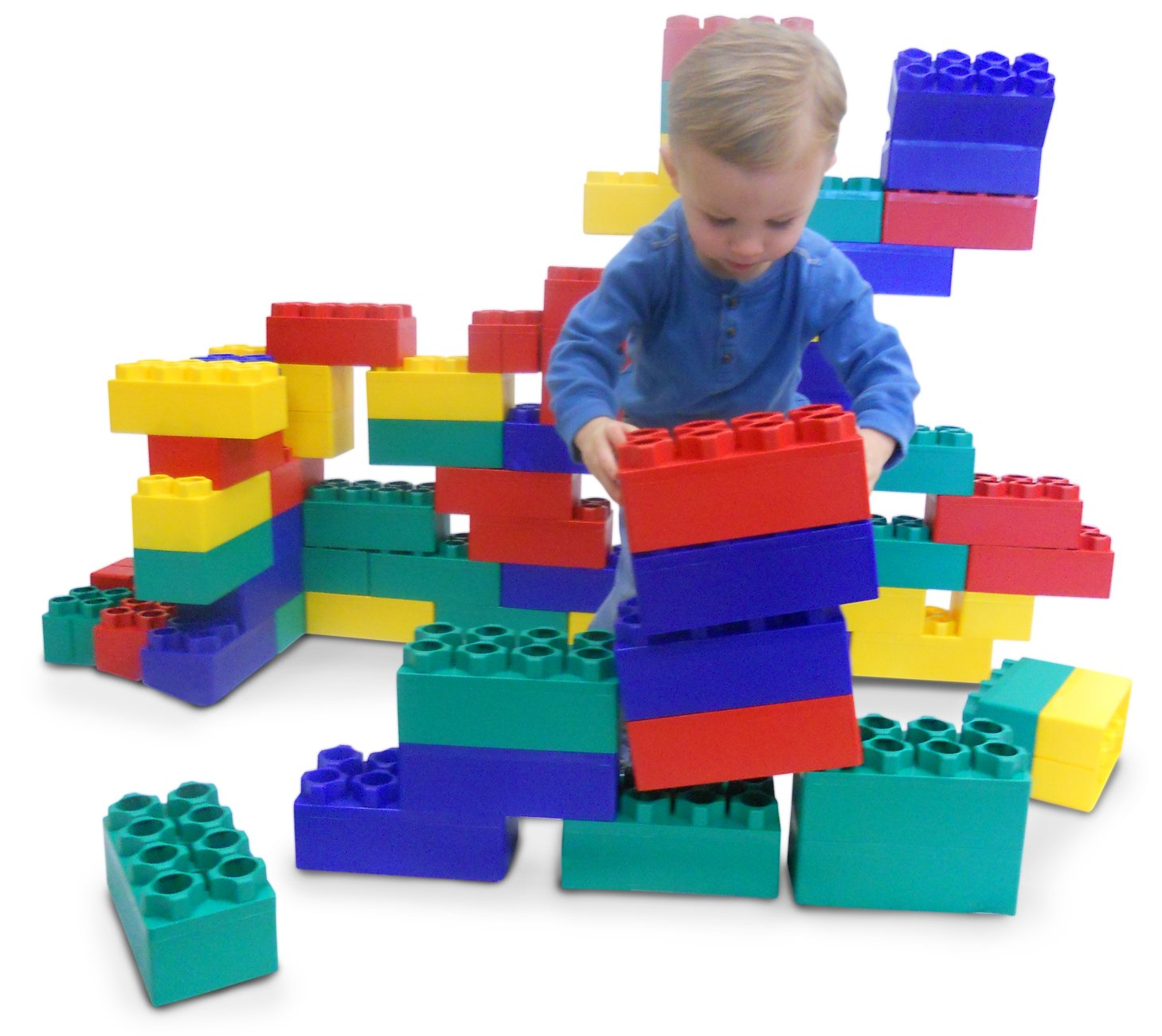 Kids Adventure Jumbo Blocks 24 piece - Kids Krate Toys