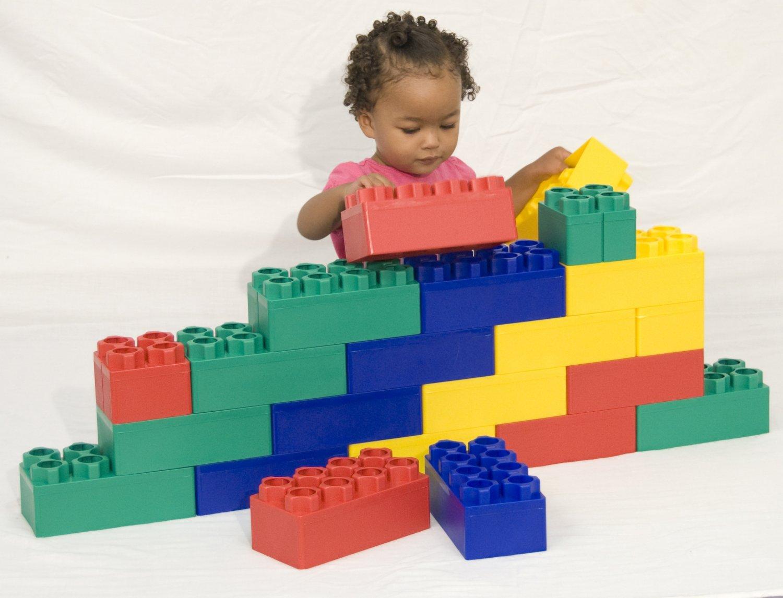 Kids Adventure Jumbo Blocks 48 piece - Kids Krate Toys