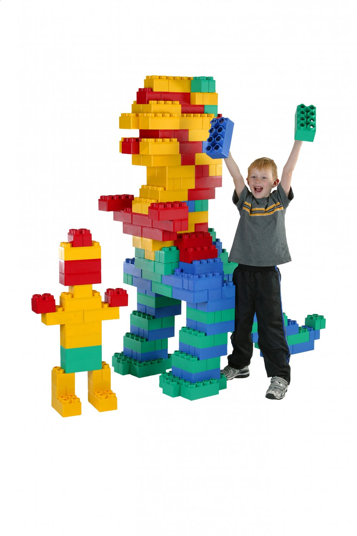 Kids Adventure Jumbo Blocks 192 piece - Kids Krate Toys