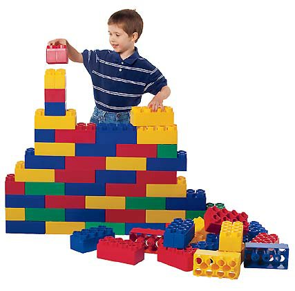 Kids Adventure Jumbo Blocks 96 piece - Kids Krate Toys