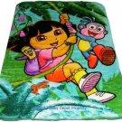 Dora Disney twin - full size MINK  blanket NEW!
