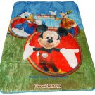 Mickey Mouse Disney twin - full size MINK  blanket NEW!