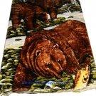 QUEEN KOREAN style MINK Bear blanket NEW!