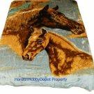 QUEEN KOREAN style MINK Horses blanket NEW!