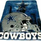 New NFL Dallas Cowboys Plush Mink Blanket Twin - Full