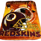New NFL Washington Redskins Plush Mink Blanket Twin - Full