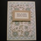 """""""mom"""" Mother's Day Card"""