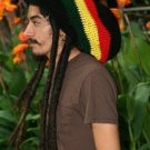 XL Black Rasta Tam