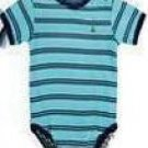 Baby Gap Stripe Print Romper (Blue)