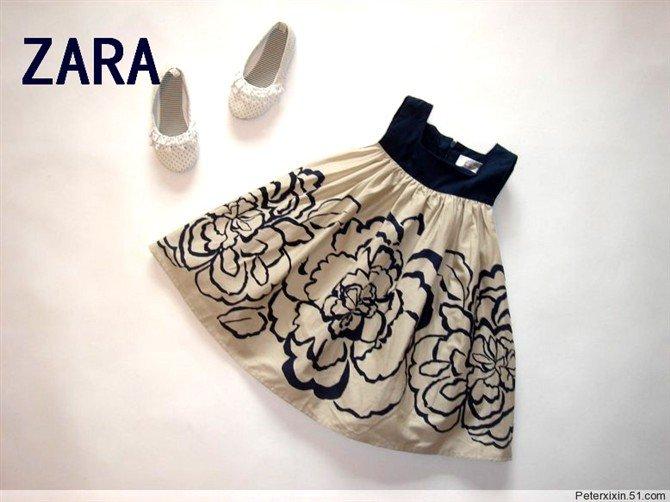 Zara Floral Printed dress