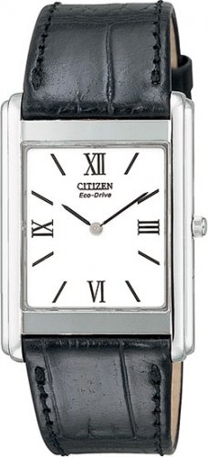 Citizen AR1000-01A Stiletto Strap White Dial Men's