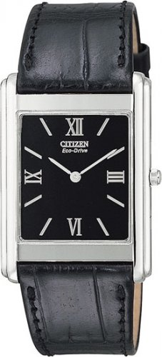 Citizen AR1000-01E Stiletto Strap Black Dial Men's