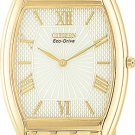 Citizen AR1032-55A Stiletto Gold Tone White Dial Eco-Drive Men's