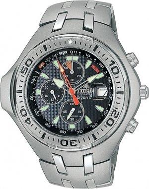 Citizen BJ2060-58E Chronograph Titanium Aqualand Chrono Aqua Men's