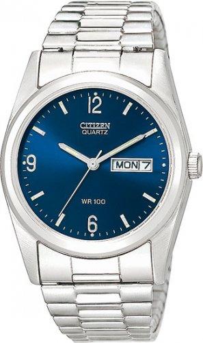 Citizen BK3690-91L Stainless Steel Blue Dial Men's
