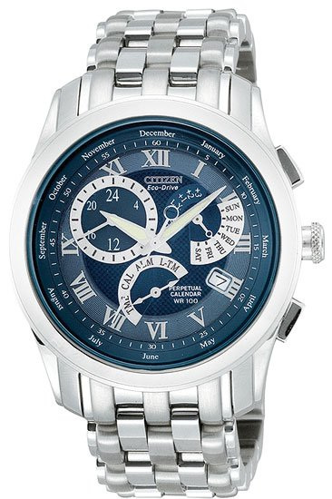 Citizen BL8000-54L 8700 Calibre Perpetual Calendar Stainless Steel Men's
