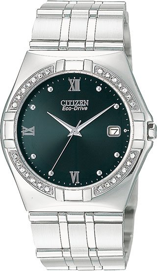 Citizen BM0720-52E Elektra Eco-Drive With Diamonds Men's