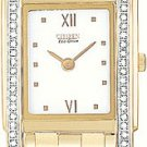 Citizen EG3052-51A Stiletto Diamond Gold Tone Ladies