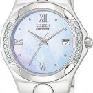 Citizen EW0240-53N Eco-Drive Corso Blue Mother of Pearl Diamonds Ladies